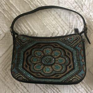 Isabella Fiore Bags - Vintage Isabella Fiore beaded shoulder bag.